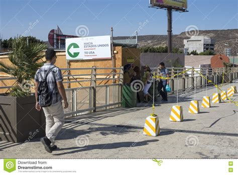 San Ysidro PedWest Border Crossing Editorial Stock Image ...