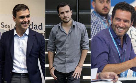 Sánchez, Garzón, Sémper... la hora de los políticos guapos ...