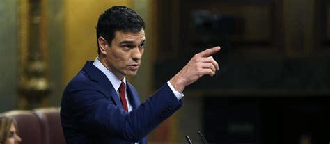 """Sánchez ratifica el """"no"""" del PSOE ante Rajoy y los ..."""