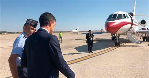 Sánchez se desplazará en avión de Madrid a Valladolid