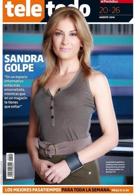 Sandra Golpe hace un máster en `Espejo público¿