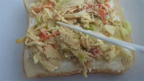 Sandwich de pollo al estilo Salvador, Peticion...opcion ...