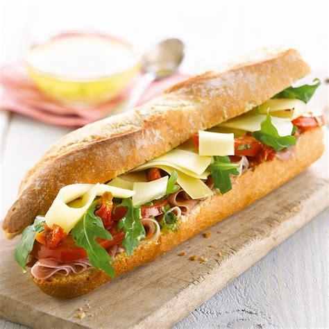 Sandwich Dolce Vita au fromage Comté - Cuisine - Plurielles.fr