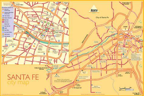 Santa Fe Tourist Map | afputra.com