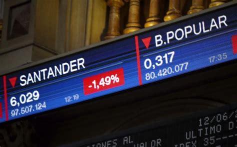 Santander cae en Bolsa un 0,45% en el día que debutan sus ...