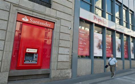 Santander cuenta con varios colchones de beneficios en Popular