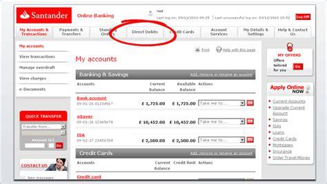 Santander Online Banking Demo