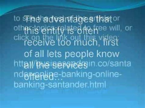 Santander Online Banking Online Banking Santander   YouTube