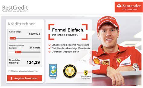 Santander Online Kredit: Infos Santander Online Kredit