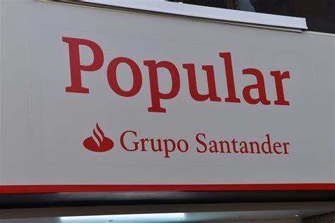 Santander vende la filial de Popular en EEUU por 444 millones