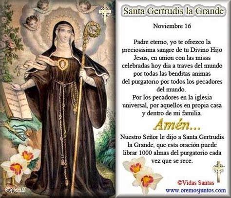 ® Santoral Católico ®: Santa Gertrudis