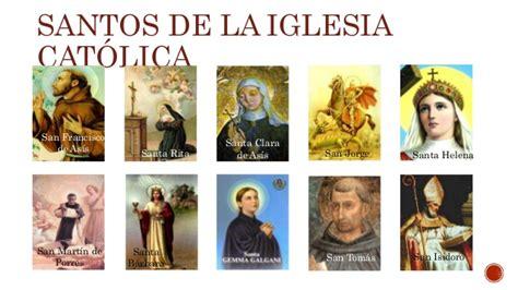 Santos de la Iglesia Católica