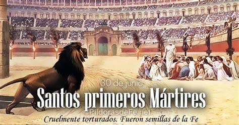 Santos Primeros mrtires de la Santa Iglesia Romana