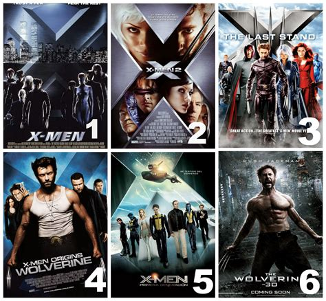 Sarah's Spiel : A guide to the X-Men Movies