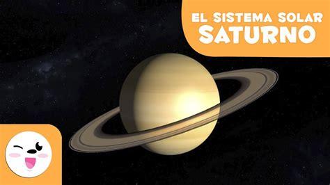 Saturno, el planeta de los anillos - El Sistema Solar en ...