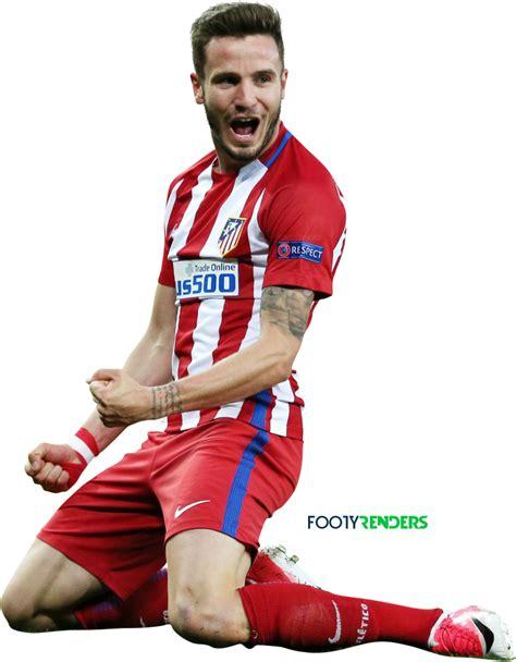 Saul Niguez football render - 35843 - FootyRenders