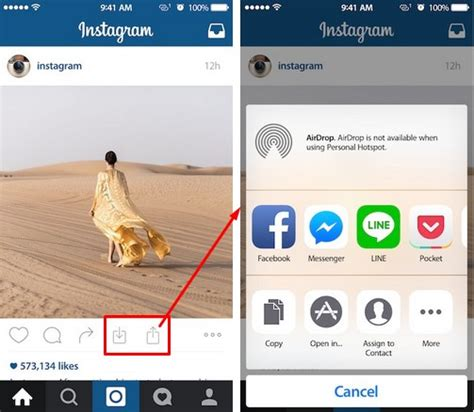 Save Instagram Photos and Videos (InstaTools iOS 8 Cydia ...