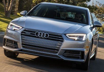 Saxton On Cars: 2017 Audi A4 ultra With 31MPG Rating Goes ...