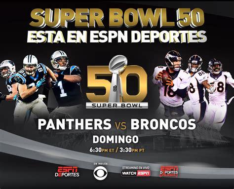 SB 50: ESPN Deportes serving ESPN's Hispanic NFL fans in ...