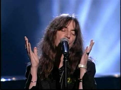 """""""Because the night"""" by Patti Smith 