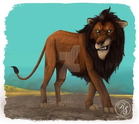 Scar CGI/live action remake Lion king by RebeccaSmethurst ...
