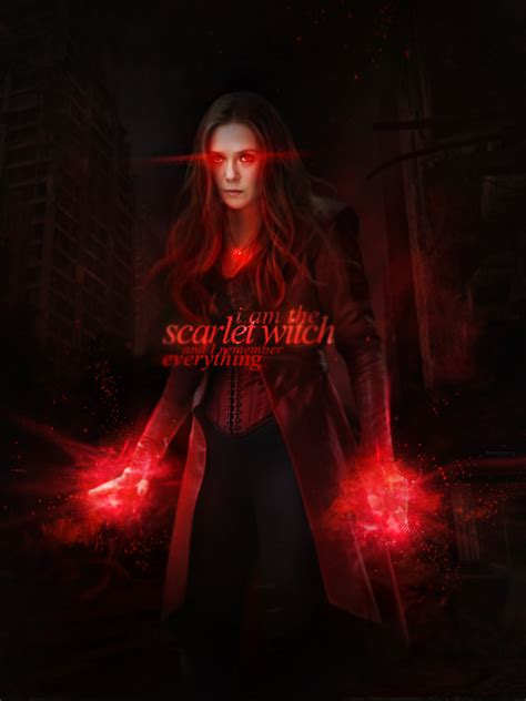 #Scarlet #Witch #Fan #Art. (Scarlet Witch) By: Monagory ...
