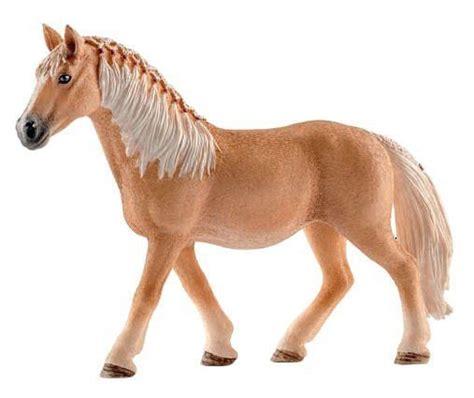 Schleich 13812 Haflinger Horse Mare Braided Mane Model Toy ...