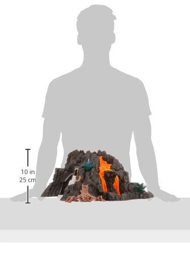 Schleich 42305 - Dinosaurs Giant Volcano with T-Rex at ...