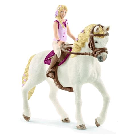 Schleich 42411 Girl with Quarter Horse Gelding New Release ...