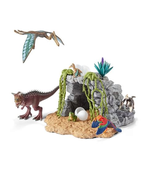 Schleich Dinosaur Set With Cave   Figures   Toys   Gifts ...