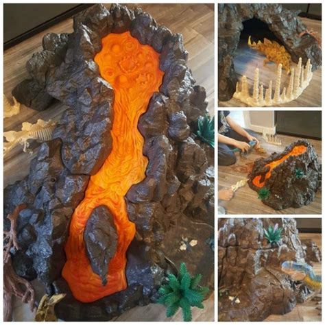 Schleich Dinosaurs Giant Volcano   Blog by Baby