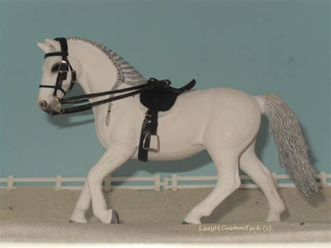 Schleich english saddle set for SALE! by LazyHcustomtack ...