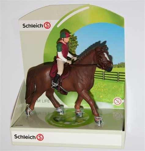 Schleich Farm   EVENTING RIDER Figure & Horse SET   42288 ...