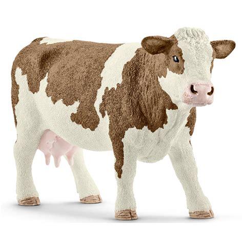 Schleich Farm Life Simmental Cow 13801 NEW | eBay