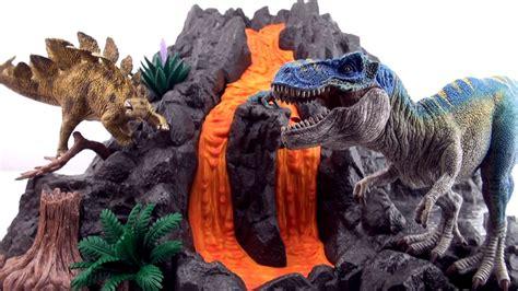 Schleich Giant Volcano T Rex 42305   Flowing Lava Dinosaur ...