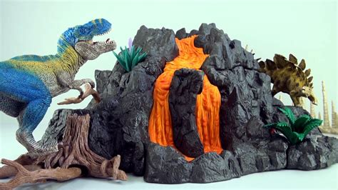 Schleich Giant Volcano with Lava REVIEW 42305   Features ...