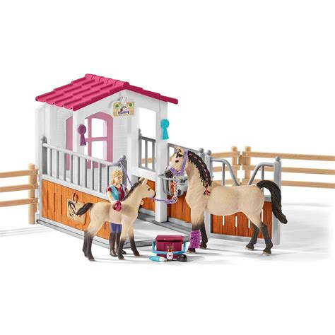 Schleich Horse Club Accessories 42369 Horse Stall with ...