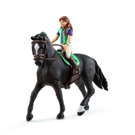 Schleich Horse Club Girl 3 and Hanoverian gelding 42413
