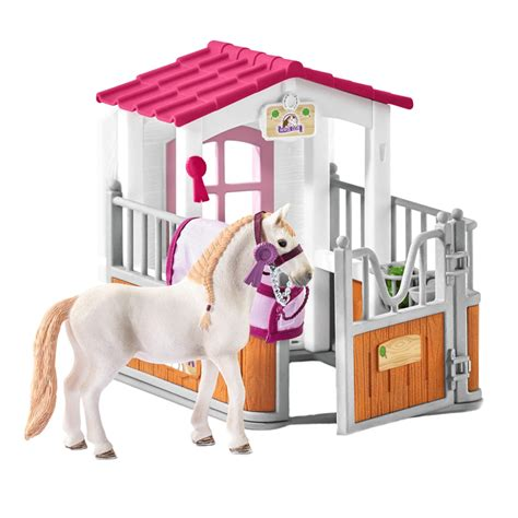 Schleich Horse Club Horse Stall with Lusitano Mare Figure ...