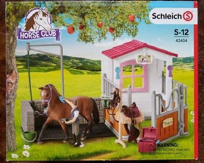 SCHLEICH HORSE Club. Horse Wash Area With Horse Stall ...