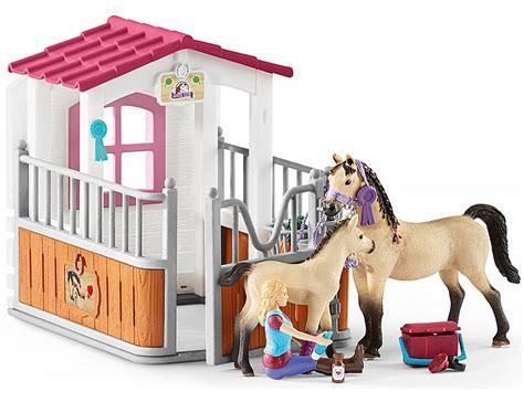 Schleich Horse Club Pferdebox mit Arabern und ...