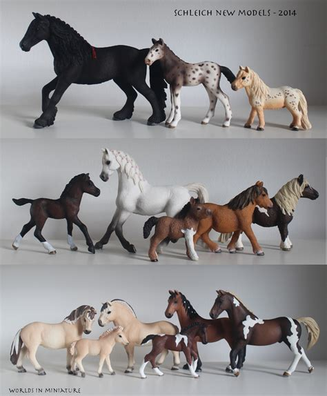 Schleich new models - 2014 by Worlds-in-Miniature on ...