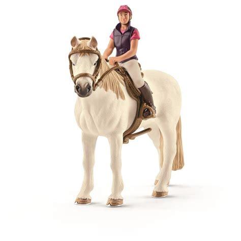 Schleich Recreational Rider With Horse | Mr Toys Toyworld