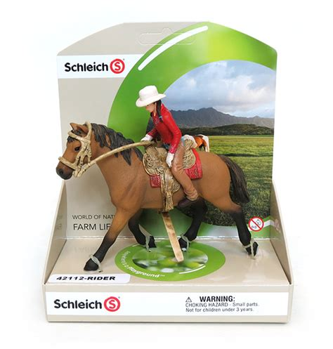 Schleich Western Horse and Rider with removable Female ...