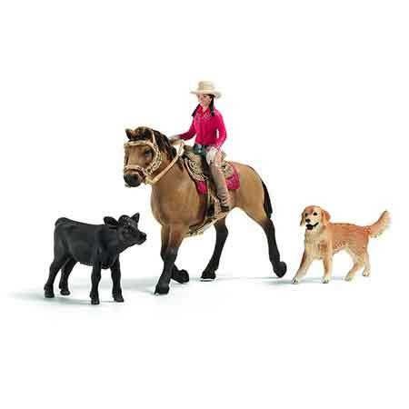 Schleich Western Rider Set #21051 #984682