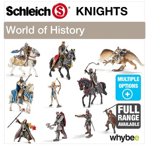 SCHLEICH WORLD OF HISTORY KNIGHTS FIGURES RANGE HISTORIC ...