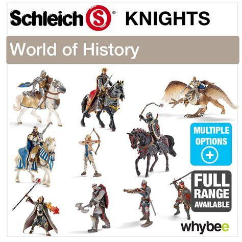SCHLEICH WORLD OF HISTORY KNIGHTS FIGURES RANGE HISTORIC ...