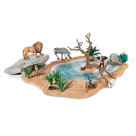 SCHLEICH WORLD OF NATURE AFRICA & ACCESSORIES, ANIMAL TOYS ...