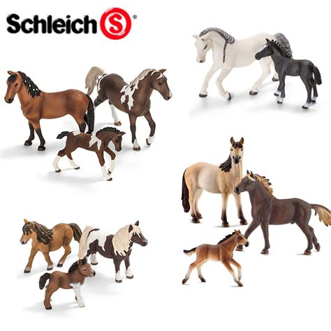 SCHLEICH World of Nature Farm Life HORSE Families - Choice ...