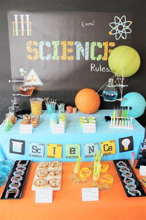 Science Birthday Party Ideas | PBS Parents - Michelle's ...